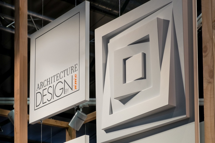 Exhibition Stand Wall Covering : Nmc arstyl wall panels stand by a b project belgium