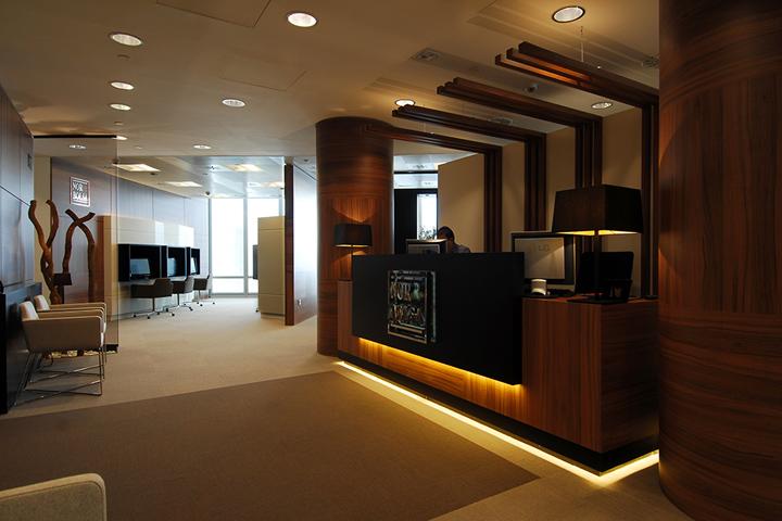 Norbolsa office by sube bilbao spain retail design blog for Oficinas de abogados decoracion