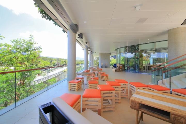 O café organic restaurant by mas studio hong kong