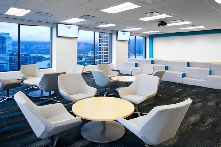 Plentyoffish office by ssdg interiors vancouver canada for Office design vancouver