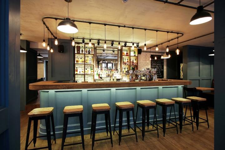 Seven restaurant pub by ram nas manikas klaip da - Interior leather bar free online ...