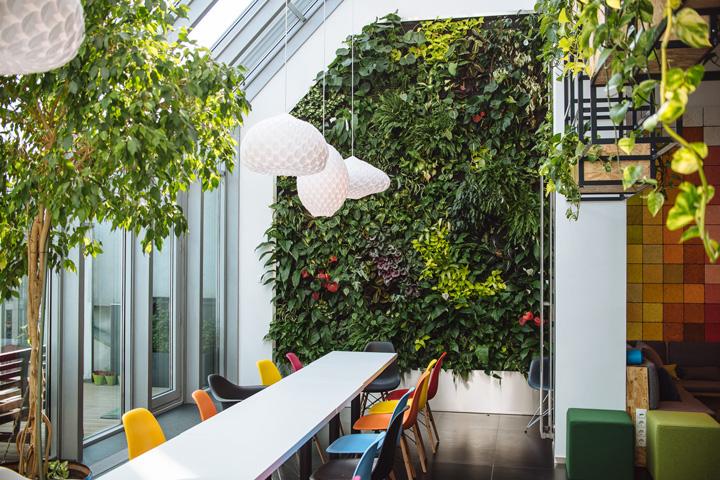 Lunch retail design blog for Office garden design