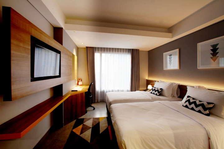 Swiss belinn hotel at simatupang by metaphor interior for Interior design lasalle jakarta