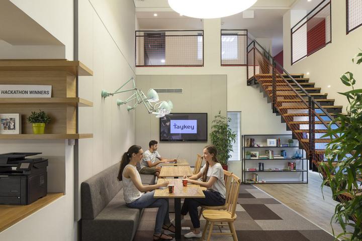 taykey offices by tr interior design herzliya israel buildinglink offices design republic