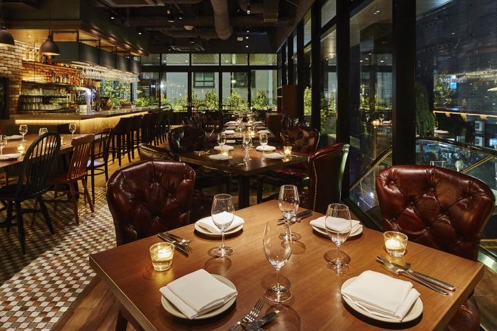 The Kitchen Salvatore Cuomo Ginza Restaurant by HaKo Design, Tokyo ...