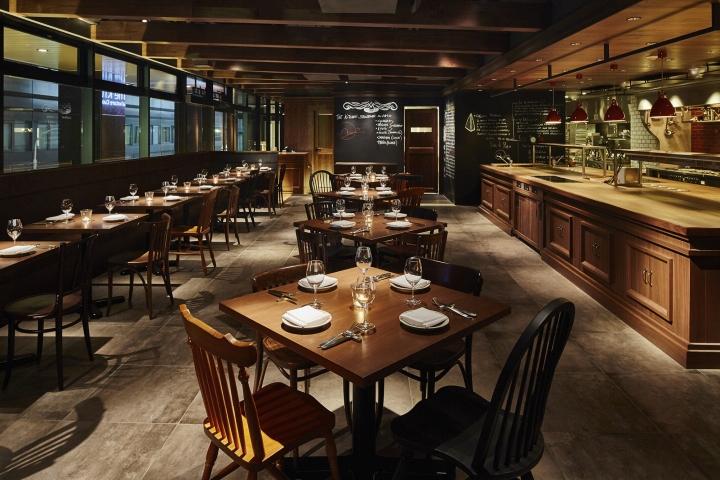 The Kitchen Salvatore Cuomo Ginza Restaurant by HaKo