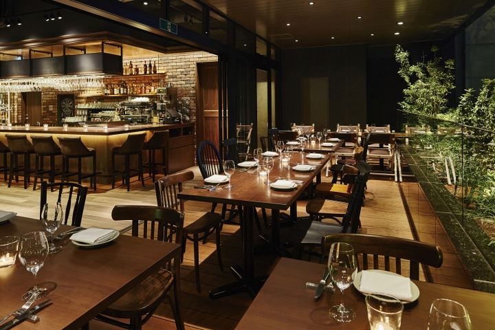 The kitchen salvatore cuomo ginza restaurant by hako for Restaurant design