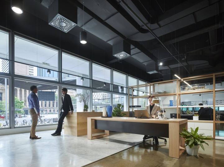 Woods Bagots Design For The Brisbane Studio Was Shortlisted At 2015 International Green Interior Awards In Office Category