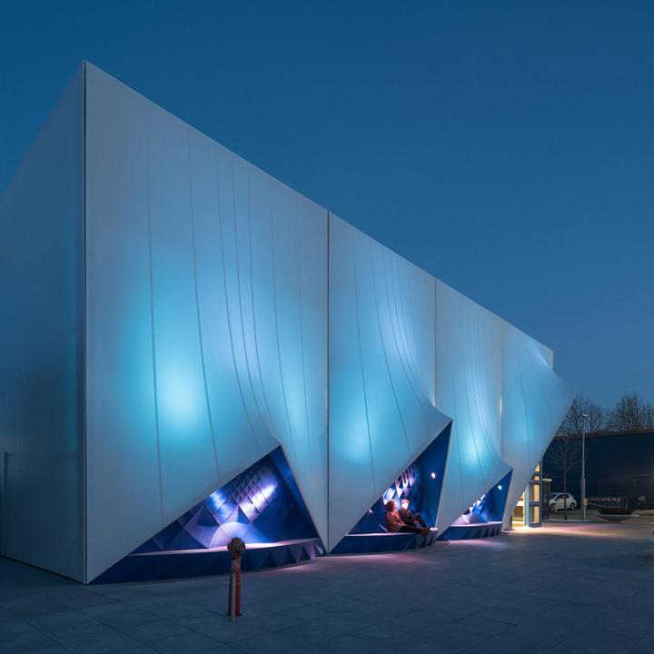3d Printed Facade For Eu Building By Heijmans Amp Dus