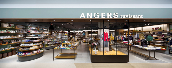 ANGERS ravissant Expocity shop by space, Osaka – Japan