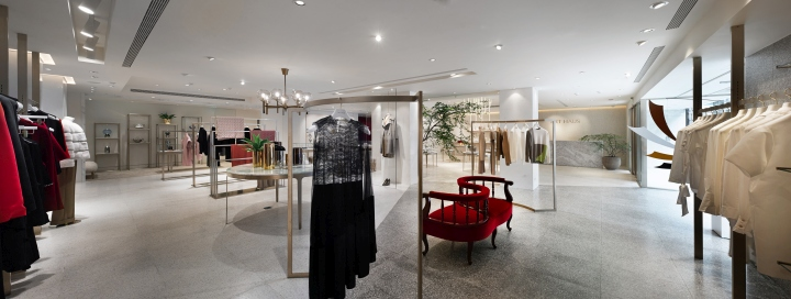 About 80% Of The Store Is Build With Terrazzo, Which Is Different From What  Conventional Boutique Shops Would Use In Their Store Designs.