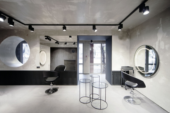 Beauty salon numero uno by mel architecture and design for Office design kazakhstan