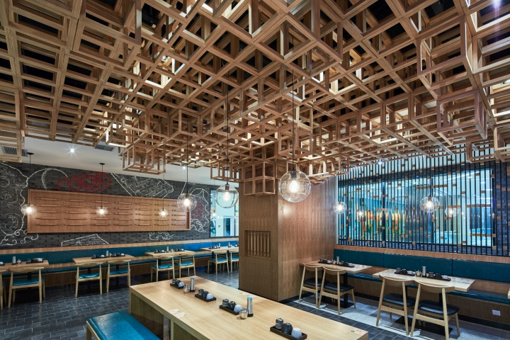 Swimming Pool Retail : Dacong s noodle house by the swimming pool studio