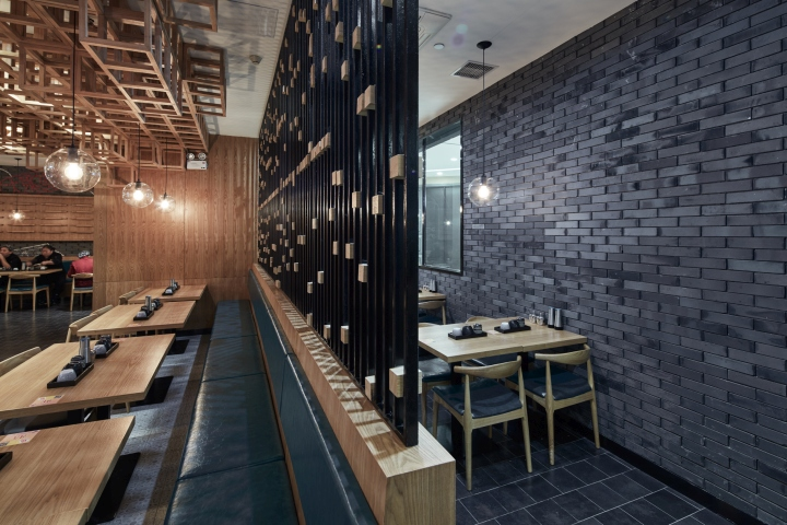 Dacong S Noodle House By The Swimming Pool Studio Shanghai China