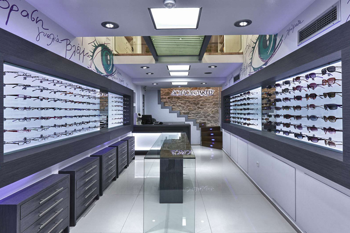 Douloufakis Optical Store By Lefteris Tsikandilakis Heraklion Greece