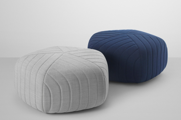 Five pouf by anderssen voll for muuto retail design blog - Design pouf ...