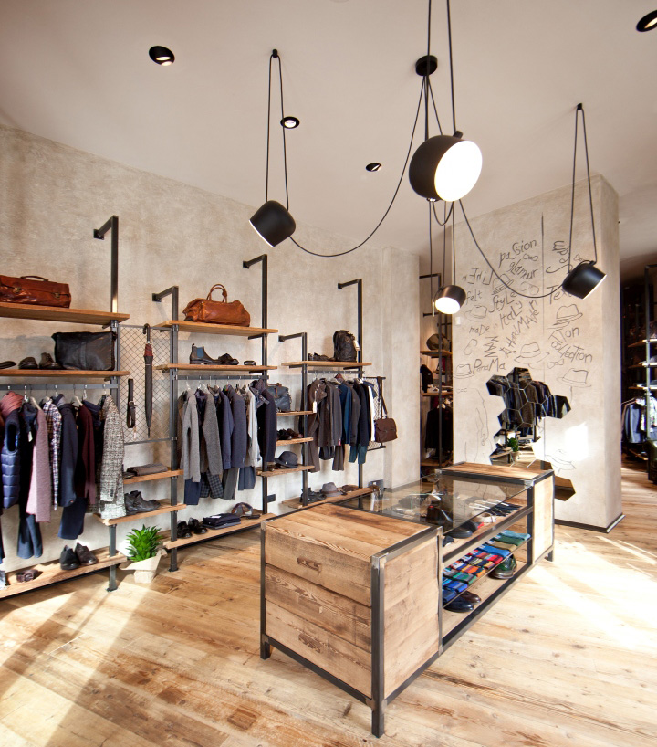Ultra Cool Fun Creative Interior Design: » Get Store Uomo By AMlab, Fossano