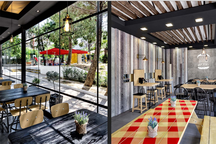 Fesselnd » Goodyu0027s Burger House By Chadios+Associates, Athens U2013 Greece