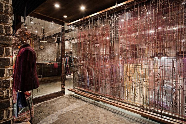 India retail design blog for Space arch delhi