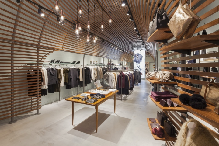 The Space Itself Features An 8m High Store Fascia U2013 A Dramatic Blank Canvas  To Create Something Really Exciting. In The Interior The Ceiling Height  Drops By ...
