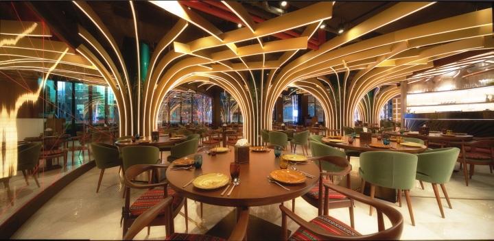 187 Karamna Alkhaleej Restaurant By 4space Uae Dubai
