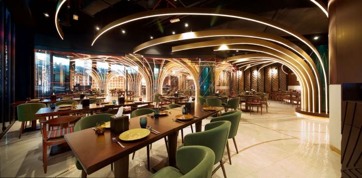 Karamna alkhaleej restaurant by space uae dubai