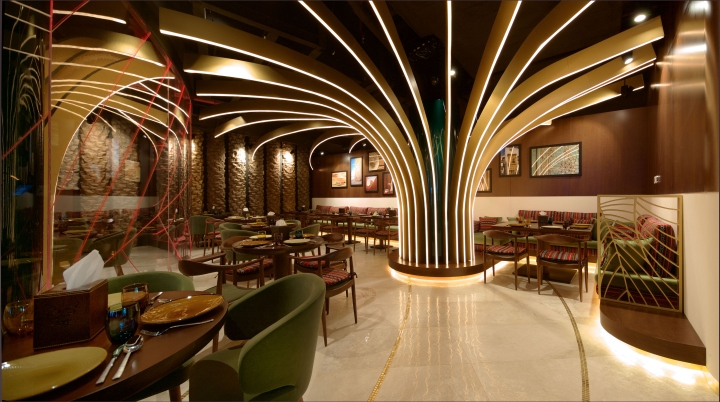 Karamna alkhaleej restaurant by space uae dubai