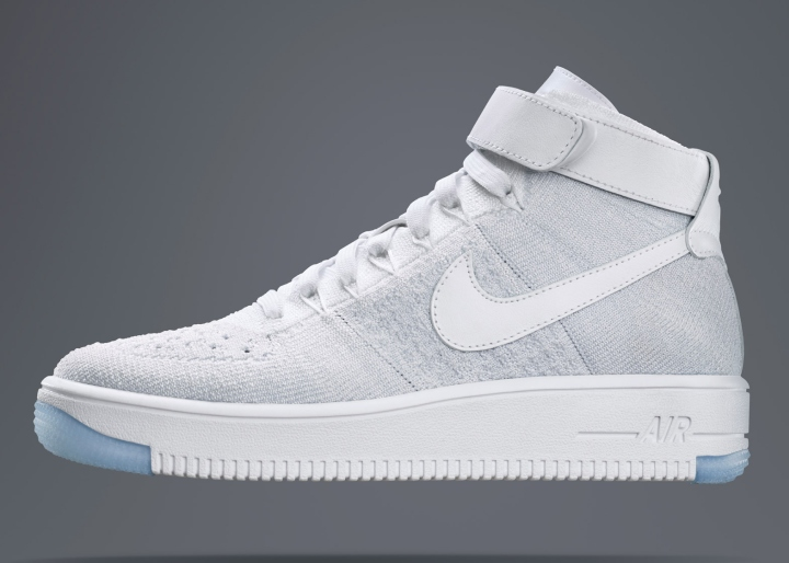 newest 3261a bb7f8 Three colour variations of the Air Force 1 Ultra Flyknit – including white  on white and a red black model – will initially be released, with more  options ...