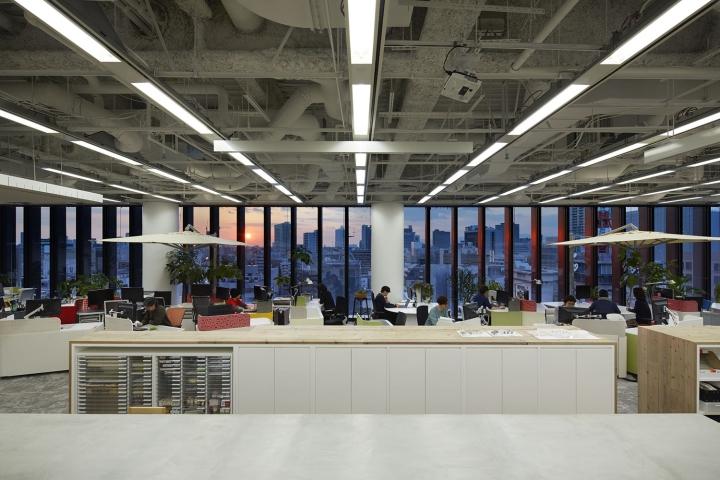 Nikken space design office osaka japan retail design blog for 5s office design
