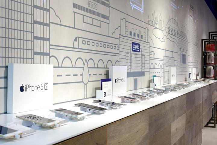 O2 Shop Altona : o2 concept store by dalziel pow manchester uk ~ Watch28wear.com Haus und Dekorationen
