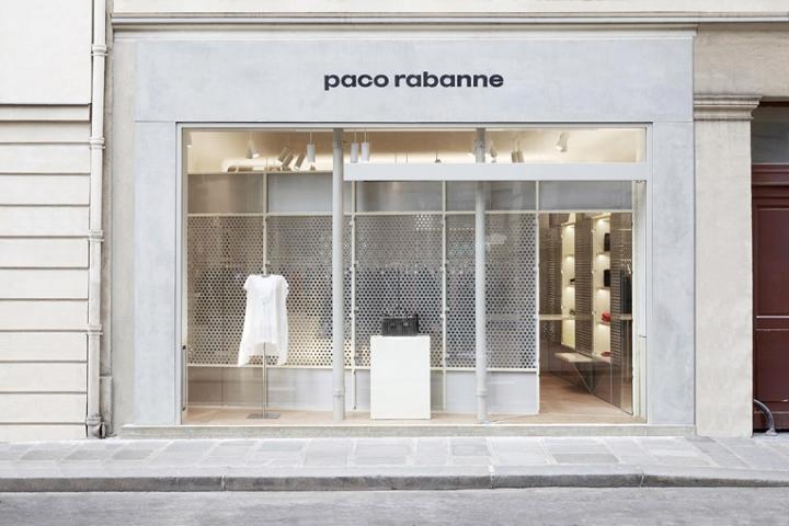 Paco Rabanne flagship store by Kersten Geers and David van Severen, Paris – France