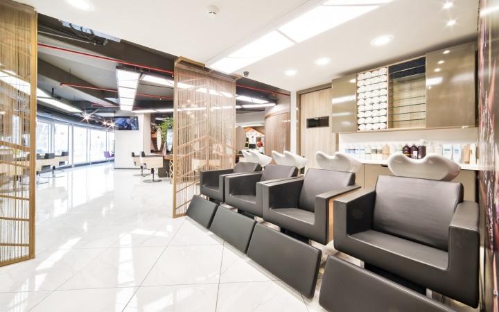 paris coiffeur by altipatlar architecture ankara turkey retail design blog. Black Bedroom Furniture Sets. Home Design Ideas