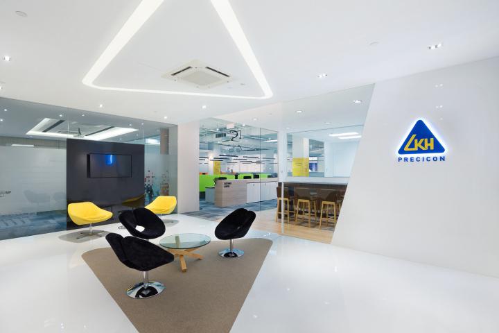 Precicon office by raw design consultants singapore for Design consultancy singapore