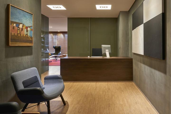Psychoanalists Office By David Guerra Architecture Interior Design Belo Horizonte Brazil