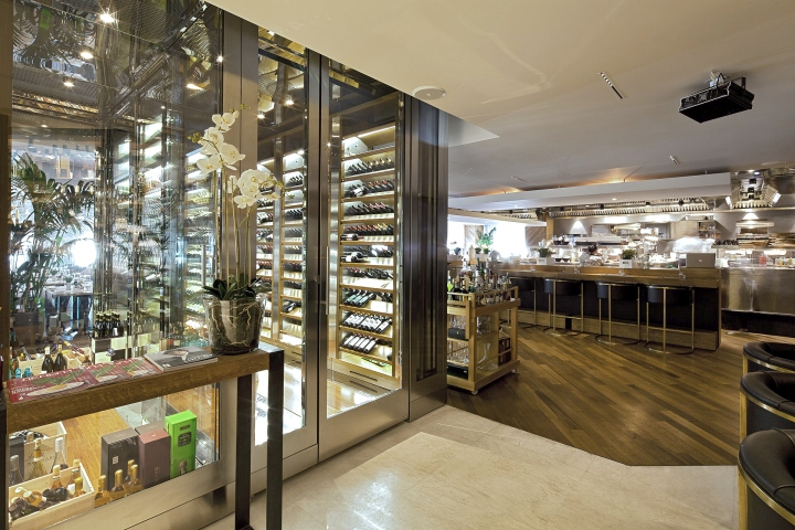 Selfie restaurant by archpoint moscow russia retail