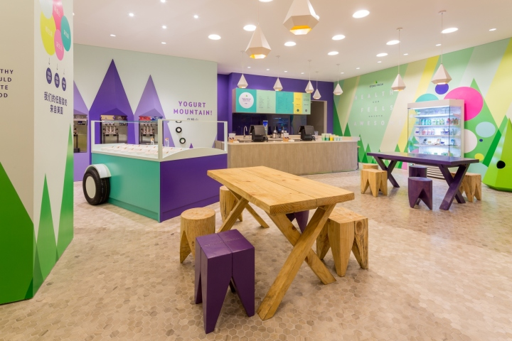 Stone Fresh Frozen Yoghurt By TRIAD Shanghai China