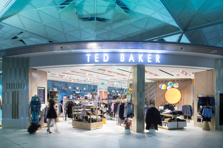Temporary Outlet Mobili Bologna.Ted Baker Store By Rosanna Lilly London Uk