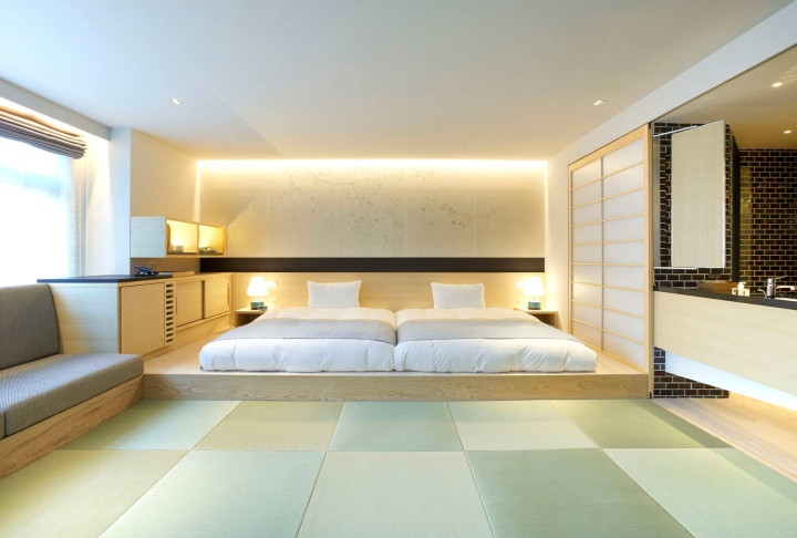 Tonerico room by bazik inc at hotel ogawaya gero japan for Design hotel japan