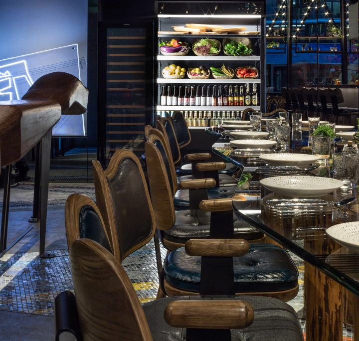 Vanimal vegetarian restaurant by via architecture hong
