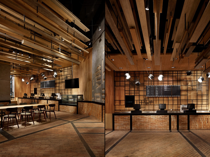 With wheat bakery by golucci international design beijing for Classic house bakery