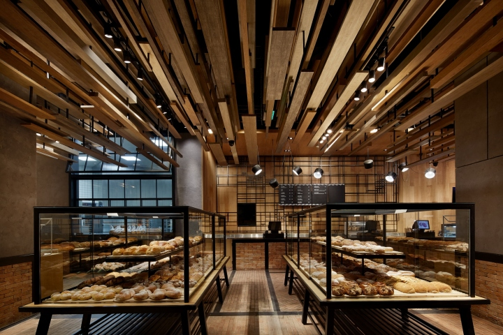 With Wheat Bakery By Golucci International Design Beijing China Retail Design Blog