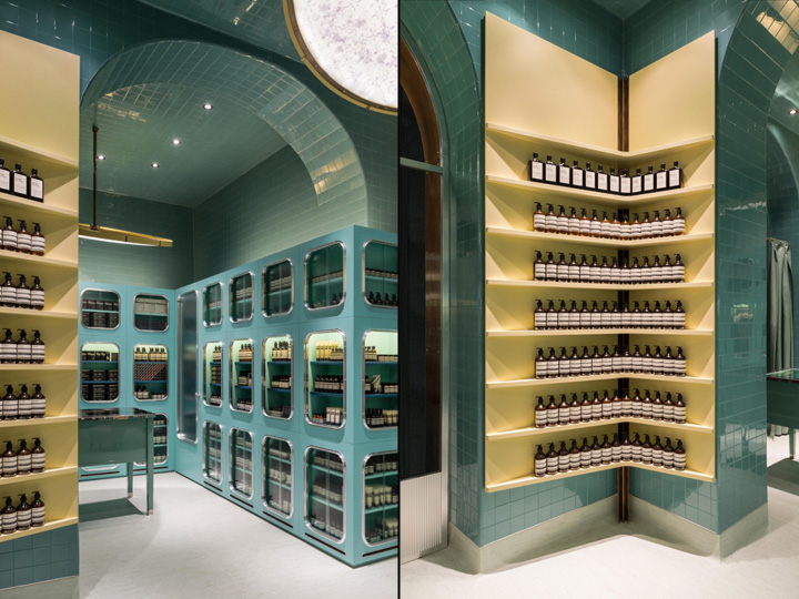 Aesop boutique by dimore studio milan italy for Store design milano