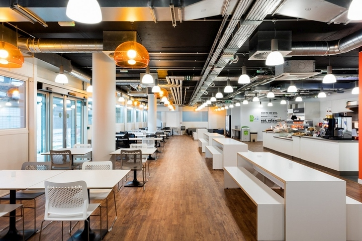 Interior Design Training Part - 42: EasyJet Offices U0026 Training Facility By Area Sq At Gatwick Airport, London U2013  UK