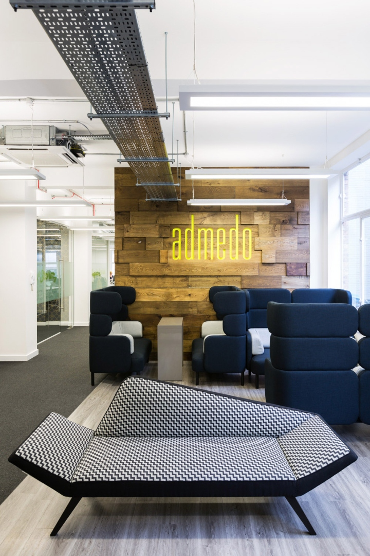 Admedo office by thirdway interiors london uk retail for Retail interior design agency london