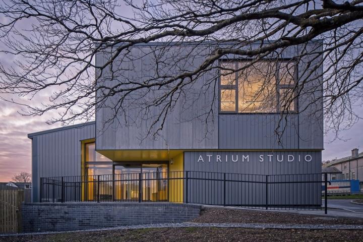 Atrium Studio By Satellite Architects Ashburton Uk