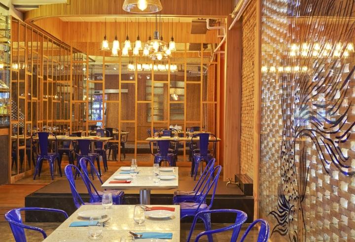 Baa ga din thai street food restaurant by party space - Registered interior designer georgia ...