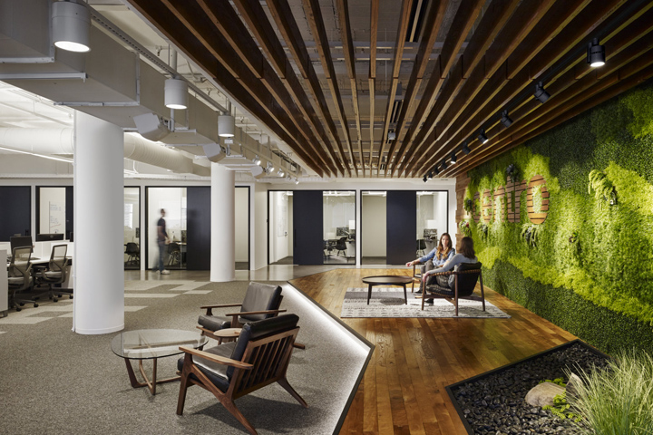 Centro office by partners by design chicago illinois for Office by design