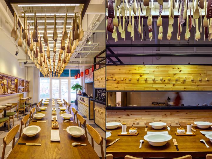 Cook Fans Chinese Noodle Bar By David Ho Design Studio