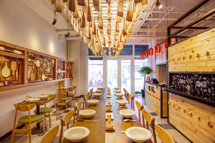 Cook Fans Chinese Noodle Bar By David Ho Design Studio