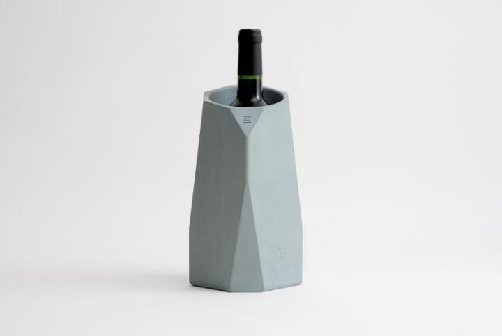 Corvi concrete wine cooler by ppi3d studio for for Concrete wine cooler